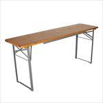 ビア テーブル 180 シルバー / BEER TABLE 180 SILVER