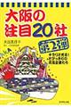 大阪の注目20社 第2弾