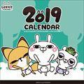 ひとえうさぎ 2019年カレンダー